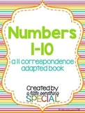 Numbers 1-10 Adapted Book