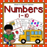 Numbers 1-10- Back to School Edition