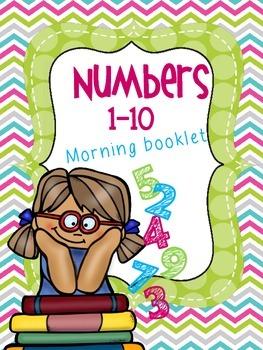 Numbers 1-10  Booklet