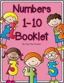 Numbers 1-10 Booklet