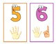 Numbers 1-10 Cards