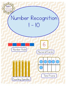 Numbers 1 - 10 Cards - Count, Compare, Write