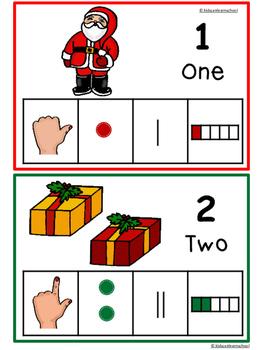 Numbers 1-10-Christmas Edition