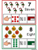 Numbers 1-10- Christmas Edition with AUSLAN Australian signs.