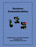 Numbers 1-10 Concentration
