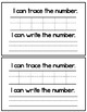 Numbers 1-10 - Emergent Reader Book - All About Numbers