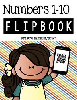 Numbers 1-10 Flipbook