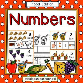 Numbers 1-10- Food Edition