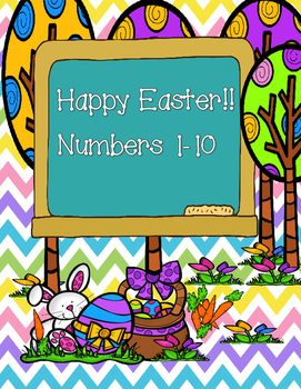 Numbers 1-10/ Happy Easter!!