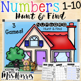 Numbers 1-10 Hunt and Find