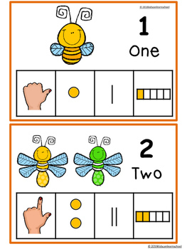 Numbers 1-10-Insects edition.