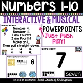 Numbers 1-10 Interactive Powerpoints | Distance Learning