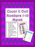 Numbers 1-10 Match