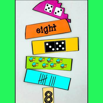 Numbers 1-10 Matching Activity