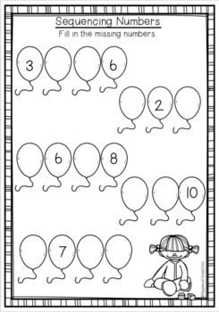 Numbers to 10 Activity Pack