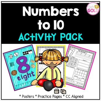 Numbers 1-10 Activity Pack