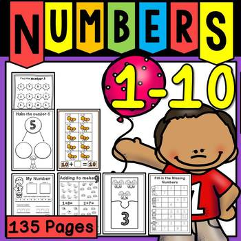 Celebrating Numbers 1-10 Bundle