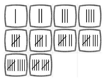 Numbers 1-10 Memory Game