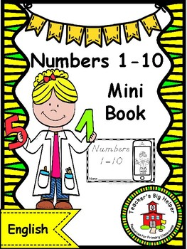 Numbers 1-10 Mini Book
