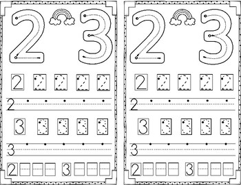 Numbers 1- 10 Mini Math Journal BUNDLE!!!