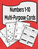 Numbers 1-10 Multi-purpose Cards