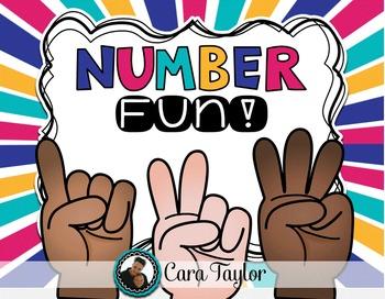 Numbers 1 - 10 No Prep Printables