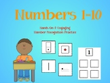 Numbers 1-10: Number Recognition Sorting Game