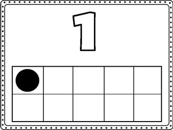 Numbers 1-10 Play-Doh Mats