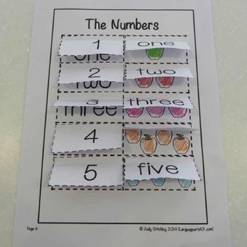 Practice the Numbers 1-10 ESL worksheets