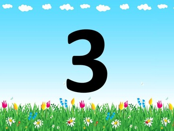 Numbers 1 -10 Presentation