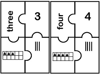 Numbers 1-10 Puzzle