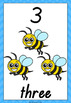 Numbers 1-10 QLD Beginners Font: Worksheets and Posters