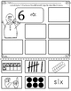 Numbers 1-10 Representing numbers Winter Version  Bilingual Stars Mrs. Partida