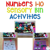 Numbers 1-10 Sensory Bin Activities