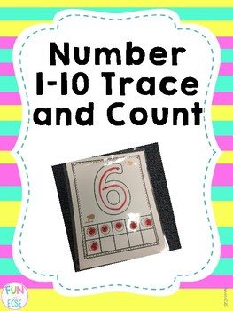Numbers 1-10 Trace and Count