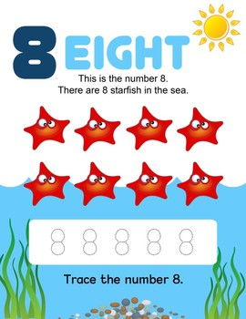 Numbers 1-10, Trace and Recognition