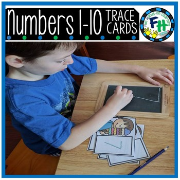 Numbers 1-10 Tracing Cards