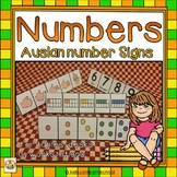Numbers 1-10 Trifoldables with Auslan Number Signs