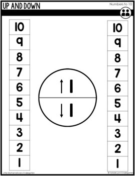Numbers 1-10 Unit: Kindergarten Guided Math