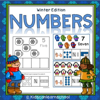 Numbers 1-10- Winter Edition