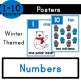 Numbers (1-10) - Winter Themed Posters