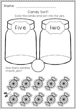 Numbers 1 - 10 No Prep Worksheets: Number Bonds, Ten Frames, Tally Marks & More