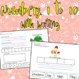 Numbers 1-10 & Writing Unit