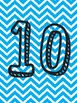 Numbers 1-10 and Chevron