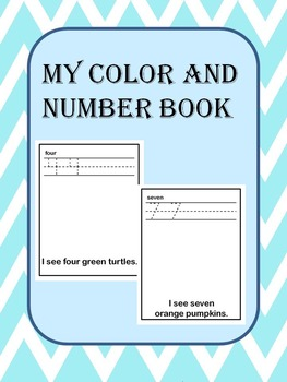 Numbers 1-10 and Colors Book