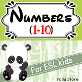 Numbers (1-10) for ESL kids