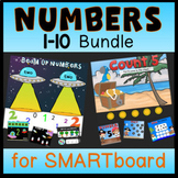 Numbers 1-10 for SMARTboard Bundle