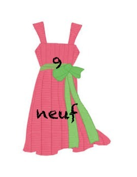 Numbers 1-10 sorting activity - Clothes line