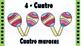 Numbers 1-10 with Hispanic artifacts