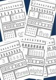 Numbers 1-10 Worksheet Set